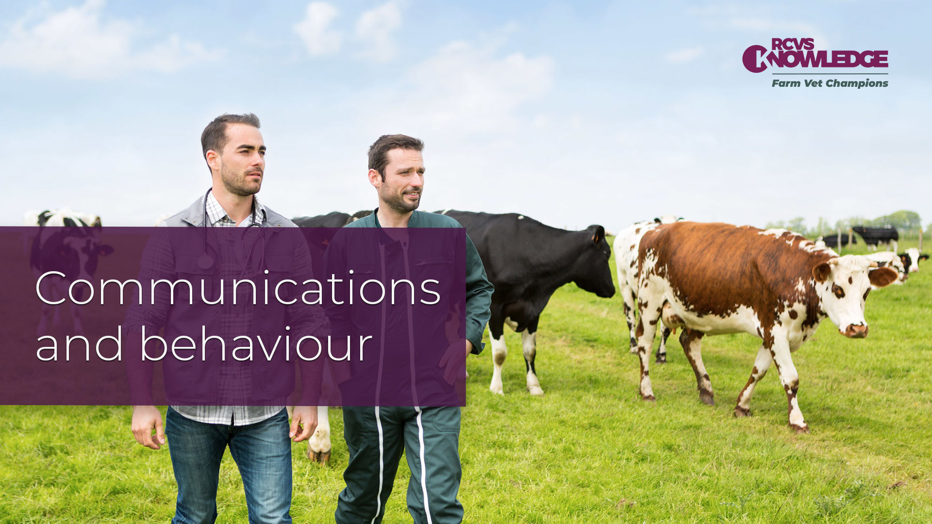 Communications and Behaviour